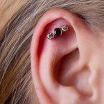 Helix piercing by Matt Bressmer