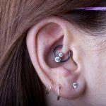 Daith piercing by Matt Bressmer
