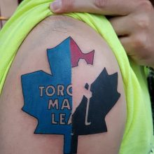 Toronto Leafs tattoo by Ren