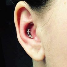 conch piercing by Tabatha Andreason