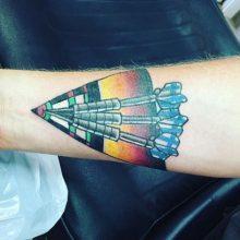 arrows tattoo by Teemu Kilz