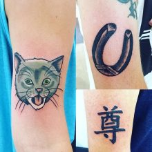 tattoos byt Teemu Kilz