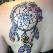 Teemu dream catcher tattoo