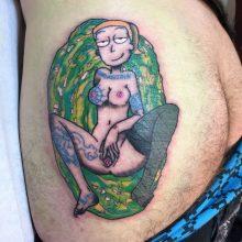 Teemu gutter crust ass tattoo