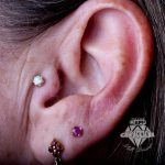 Tragus piercing by Matt