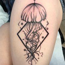Teemu Jellyfish Tattoo