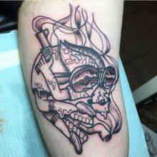 Teemu Hunter S Thompson Tattoo