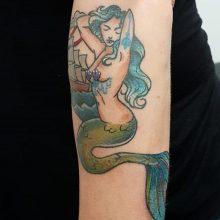 Ren Mermaid Tattoo