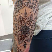 Ren Stippled Tattoo