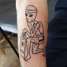 Ren Skeleton Tattoo