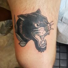 Ren Panther Tattoo