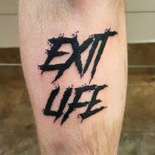 Ren Exit Life Tattoo