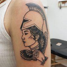 Ren Gladiator Women Tattoo