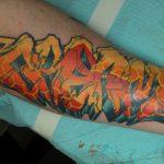James Jameserson Grafitti Tattoo