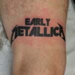 James Jameserson Early Metallica Tattoo