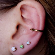 Conch and triple lobes by Matt Bressmer