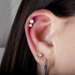 Helix piercing by Matt Bressmer
