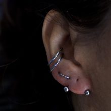 Double conch, orbital and transverse lobe by Matt Bressmer