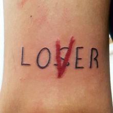 Loser club tattoo, It movie