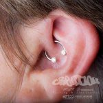 daith piercing by Matt Bressmer