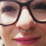 septum piercing by Matt Bressmer