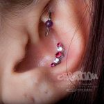 conch piercing by Matt Bressmer