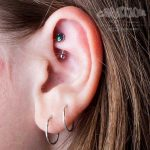 rook piercing by Matt Bressmer