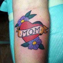 Sailor Jerry Mom tattoo by Renato Marino