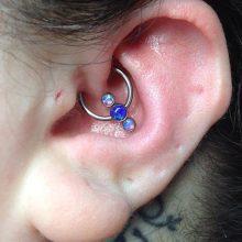 daith piercing by Tabatha Andreason