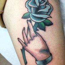 bomb tattoo by Teemu Kilz