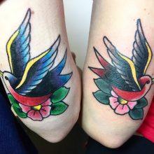Teemu swallows