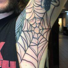 Teemu spider web