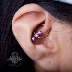 Daith piercing by Matt