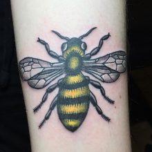 Teemu Bee Tattoo