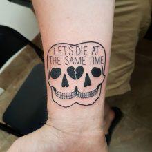 Ren Die together Tattoo