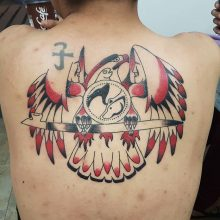 Ren Aboriginal Work Tattoo