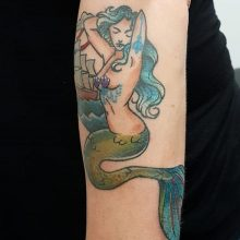 Ren Mermaid Tattoo