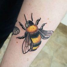 Ren Bumblebee Tattoo