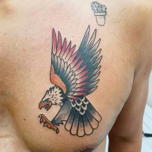 Ren Eagle Tattoo