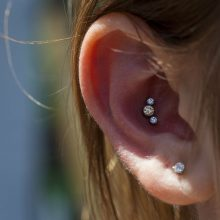 Conch piercing by Matt