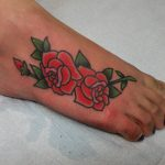 James Jameserson Roses Tattoo
