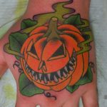 James Jameserson Jack O Lantern Tattoo