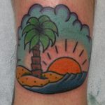James Jameserson Island Tattoo
