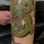James Jamerson Green Dragon Tattoo