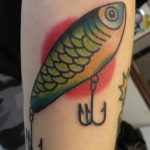 James Jameserson Tackle Lure Tattoo